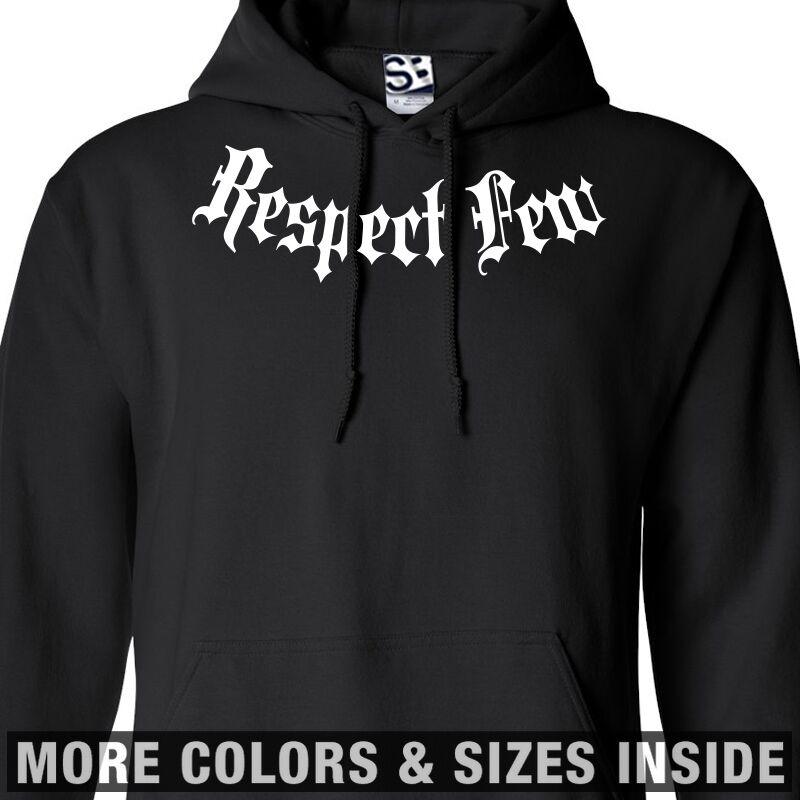 Respect Few Addict HOODIE - Hooded Fear None RFFN Sweatshirt -All Größes & Farbes
