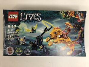 LEGO-41192-Elves-Azari-amp-the-Fire-Lion-Capture-Brand-New-Sealed
