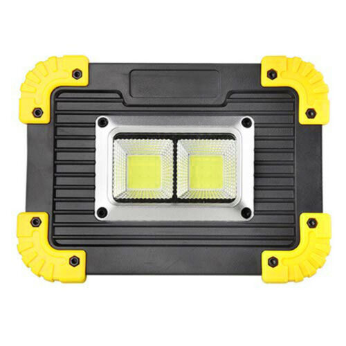 20W Rechargeable LED COB Work Light Camping Security Floodlight Emergency Lamp
