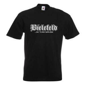 T Fan Maglietta 05a jamais St Bielefeld shirt S marche seul 12xlsfu01 Ne dteshirt ED2IWH9
