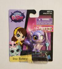 Littlest Pet Shop NEW Bingo Blueberg the purple sugar glider  3752 hub