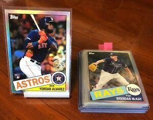 2020 Topps Chrome Baseball Card Inserts  ** You Pick * Robert, Alvarez, Bichette