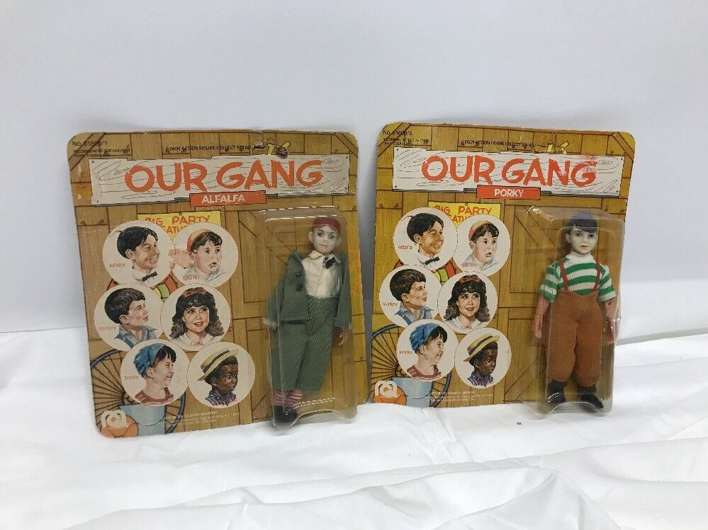 1975 MEGO CORP--OUR GANG--6  Alfalfa And Porky Lot Of 2  FIGURE (NEW)
