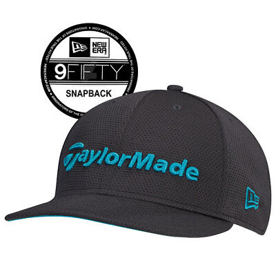 49f7f577625 New TaylorMade New Era 9Fifty Snapback Hat Gray Teal
