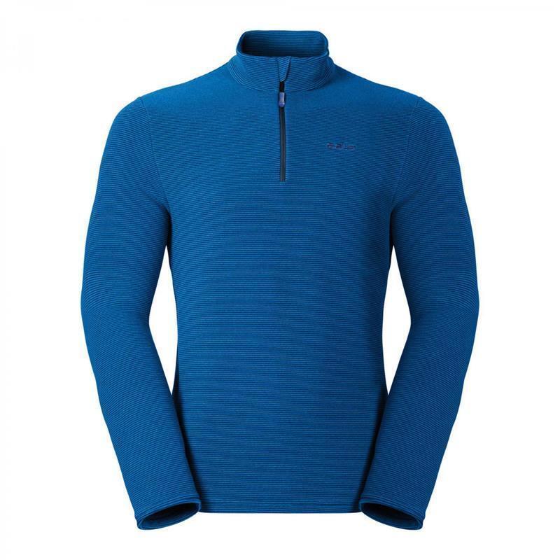 Odlo Midlayer 1/2 Zip Big Mountain Langarmshirt Herren blau  59,99