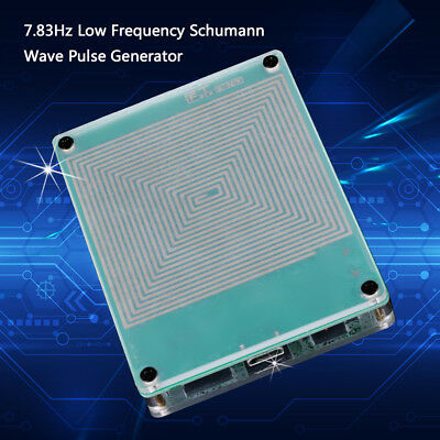 New 7.83Hz Ultra-low Frequency Schumann Wave Pulse Generator W// Switch