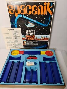 Vintage-Tomy-Spacenik-Battery-Operated-Spaceship-Track-And-Box-1960s