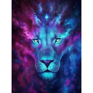 5D-DIY-Diamond-Painting-Gorgeous-Lion-Cross-Stitch-Embroidery-Rhinestones