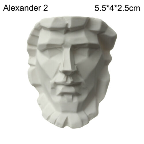 Practice Gypsum Bust Portraits Plaster Statue Famous Sculpture Greek Mythology
