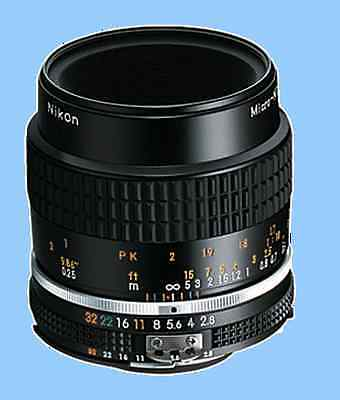Brand New Nikon Ais Micro-Nikkor 55mm F2.8 Macro Manual Lens Ai S MF f/2.8