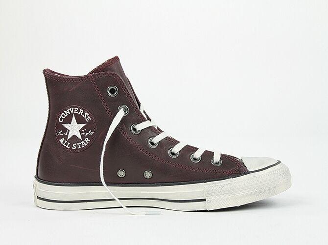 Converse señora Chuck All Star premium premium premium Leather CT as Hi well Burgundy 141061 C  barato en línea