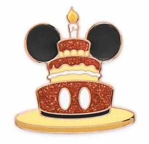Cool Disney Mickey Mouse Happy Birthday Cake Pin Badge From Disney Funny Birthday Cards Online Fluifree Goldxyz
