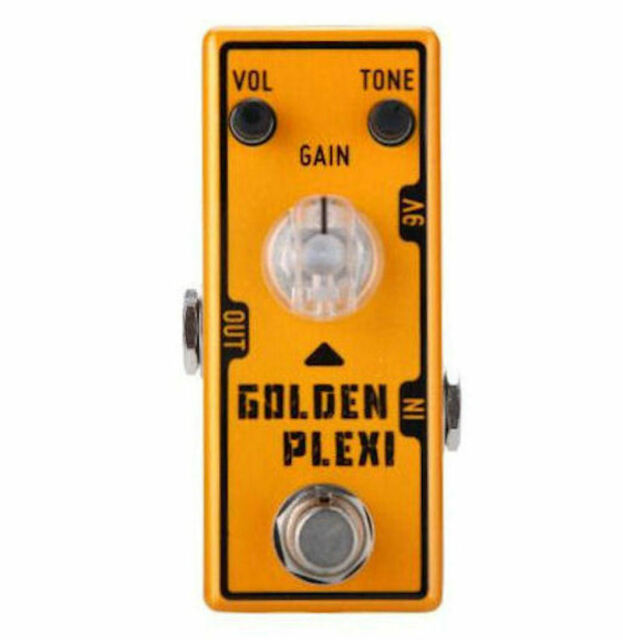 Tone City Golden Plexi Distortion All Mini's are NOT the same! U.S. Shipping!