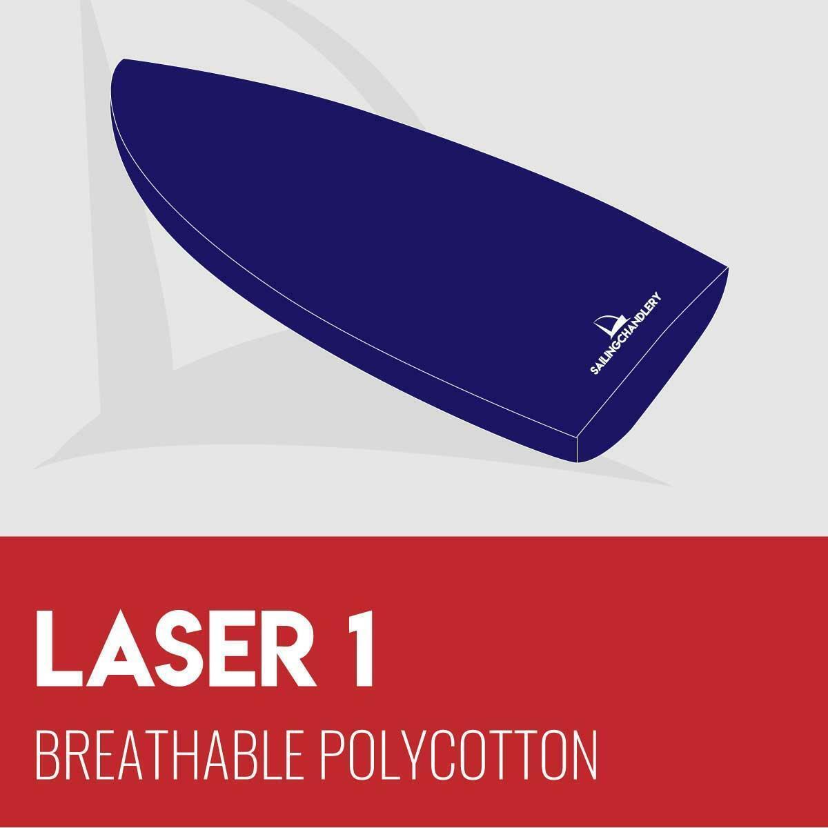Laser 1 laars Cover --Ademhabare Polykatoen