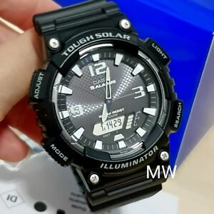 Casio Men Sport Digital Alarm Light Black Resin Watch AQ-S810W-1AVDF AQ-S810W-1A