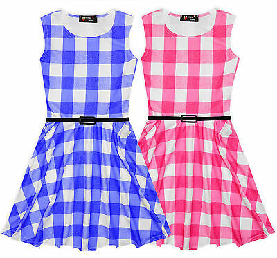 Girls pink party spring//summer dress age 6-7 years