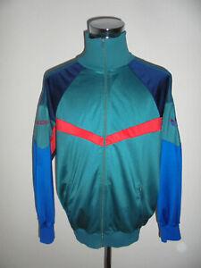 vintage-80-s-ADIDAS-Trainingsjacke-oldschool-Jacke-80er-glanz-Sportjacke-Gr-L