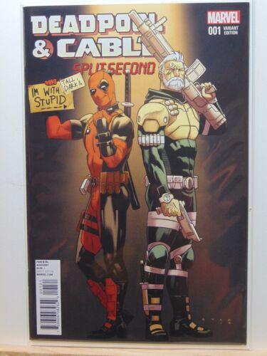 Deadpool /& Cable #1 001 Variant Edition Marvel Comics vf//nm CB2714