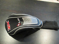 Ram Zx 1 Wood Driver Golf Club Head Cover Black Red Silver