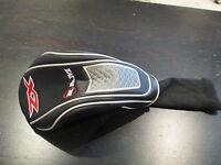 Ram Zx 1 Wood Driver Golf Club Head Cover Black Red Silver