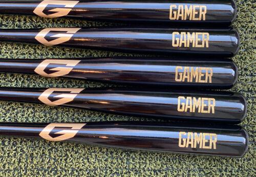33 Marucci Black Gamer Maple Wood Baseball Bat
