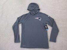 Nike Authentic NFL New England Patriots Stadium Dri Fit Light Hoodie Men L NEW!