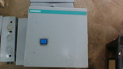SIEMENS MOTOR STARTER 3TF4022-OA WITH ENCLOSURE WITH 3 POLE SWITCH 3UA50 00-1A