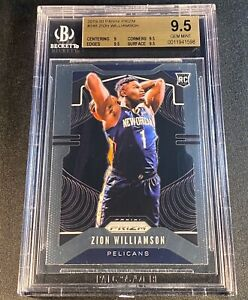 ZION-WILLIAMSON-2019-PANINI-PRIZM-248-ROOKIE-RC-BGS-9-5-GEM-PELICANS-NBA-A