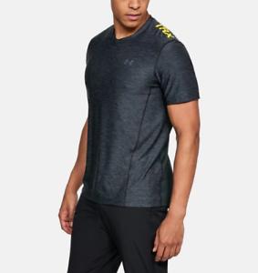 Under Armour Herren UA Wordmark Schulter Kurzarm T-Shirt UA 1344227 Shirt