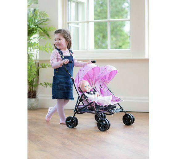 Mamas Papas Junior Twin Twin Twin Cruise Stroller Favourite Dolls For A Stroll In Style_UK 731461