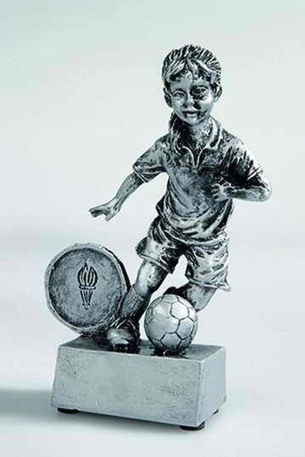20 figuras de fútbol joven de fútbol plata 12cm   176e (trofeo trofeos grabado torneo)  tienda de bajo costo