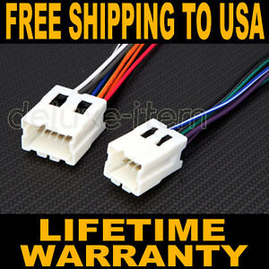 replace car stereo radio power wire wiring harness adapter for rh ebay com