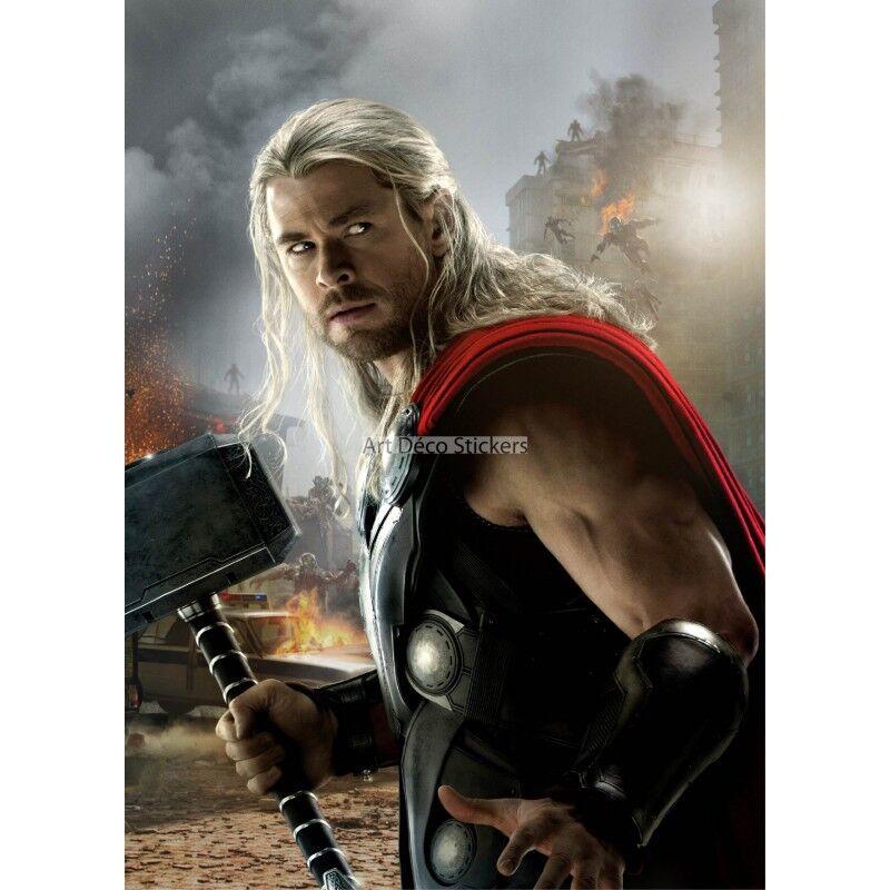 Aufkleber Riesig Deko Thor Avengers 15172 15172