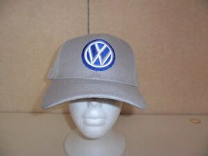 VW-VOLKSWAGEN-HAT-GRAY-FREE-SHIPPING-GREAT-GIFT
