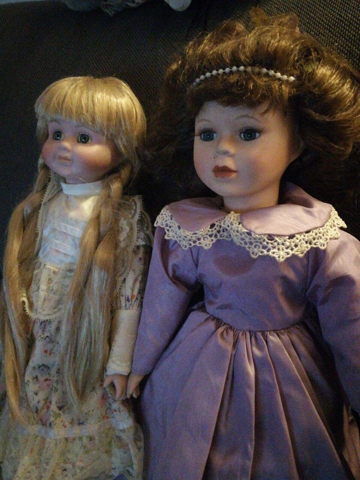 X2 Haunted Spirit Vessel Dolls (Nicole & Kelly