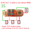 BMS-3S-4S-5S-18650-Lithium-Battery-Protection-Circuit-Charging-Board-Module-New miniature 6