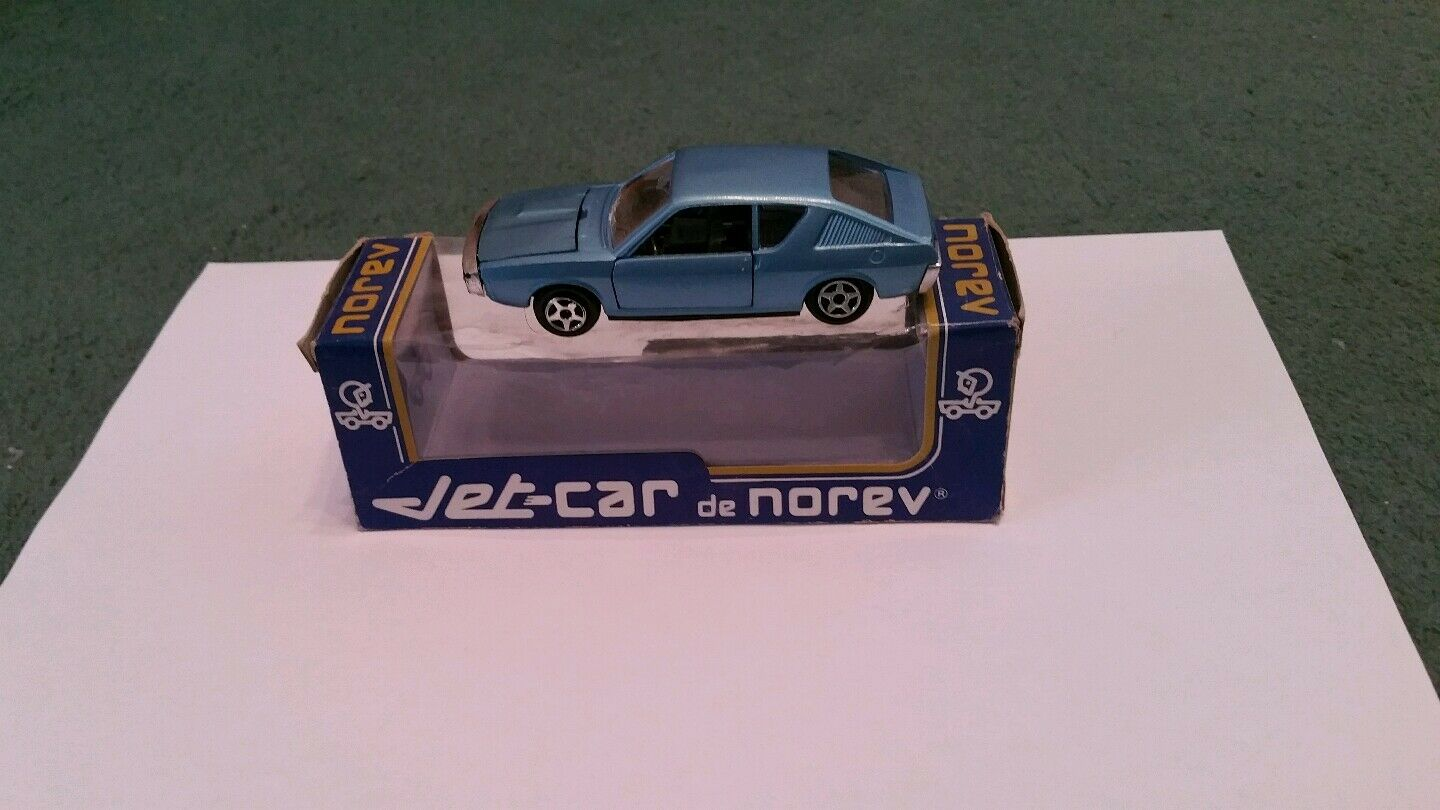 Norev renault 17 ts 1 43 mint 823 serie p - wagen metall 1971 blau + box