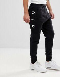 Nominal Mansedumbre Herméticamente  Nike Men's Nike Air Skinny Fit Joggers Black 886048 011 | eBay