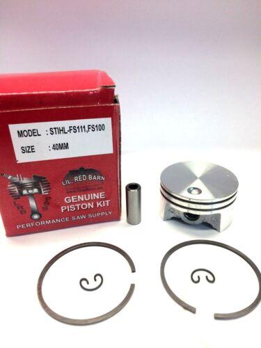 Piston Kit Fits STIHL FT100 FS100 HT100 HT101 KM100 KM110 4 MIX Piston Assembly