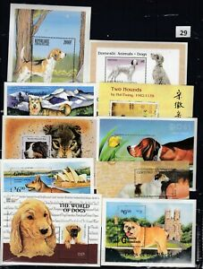NT 10S/S ANIMALS - DOGS - MNH - PETS - DOMESTIC ANIMALS