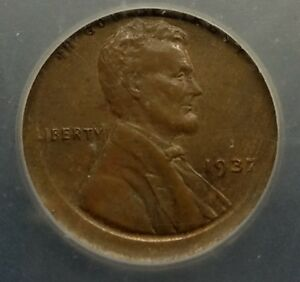 1937-WHEAT-LINCOLN-CENT-STRUCK-OFF-CENTER-ERROR-VERY-NICE-ICG-MS-64