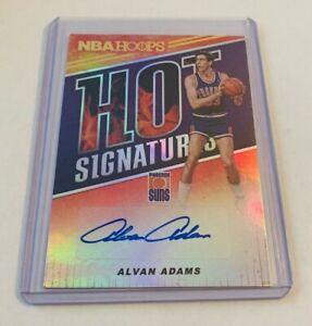 R43,491 - 2018-19 Hoops Hot Signatures #17 Alvan Adams Autograph Suns
