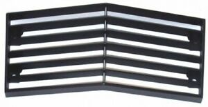 1974-C3-CORVETTE-FRONT-CENTER-GRILL-WITH-BLACK-EDGE-NEW-REPRODUCTION