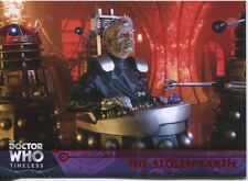 Doctor Who Timeless Red Parallel [##/25] Base Card #66 The Stolen Earth
