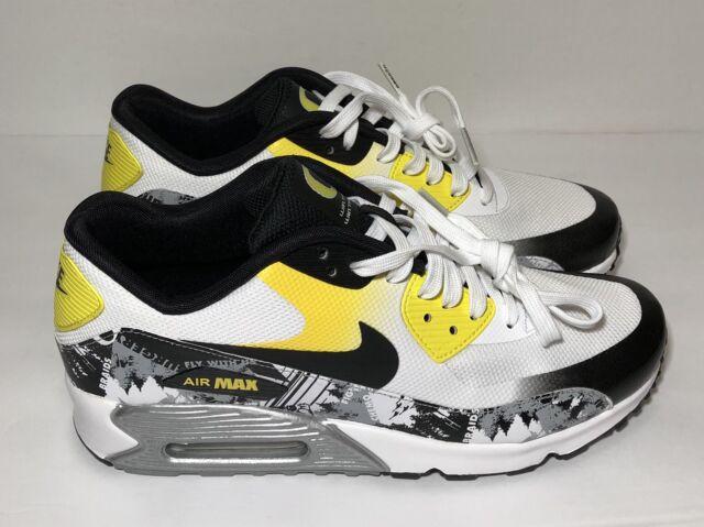 Nike Air Max 90 Doernbecher DB Women's Size 5 Oregon 838767 100 White Yellow