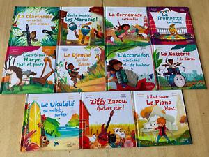 lot 11 livres série En avant la musique - Hachette Jeunesse / Katerine Pancol