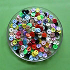 200 Wholesale Mini Tiny Micro Doll Clothes Mixed Lot Sewing Buttons 6mm L1