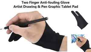 Black-Anti-fouling-Glove-Artist-Drawing-Painting-Graphics-Design