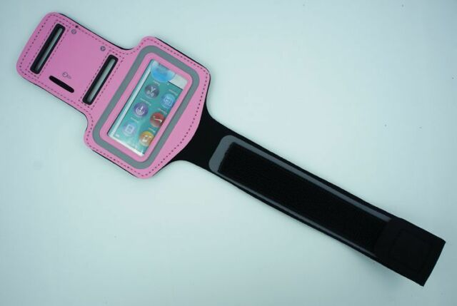 For Apple iPod Nano 5th 6th 7th Generation Armband Gym Running Workout Case Pink