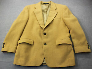 JoS A BANK Gordon Made in USA Mens Beige 100% Camel Hair Sportcoat Blazer  41 R